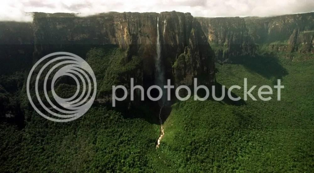 Angel Falls Venezuela Wallpaper A Lost World Where Angel Falls Plunges Off Devil S