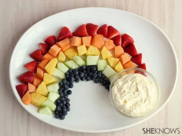 St. Patrick's Day Inspired Fruit Platter by Shannon Madigan for SheKnows