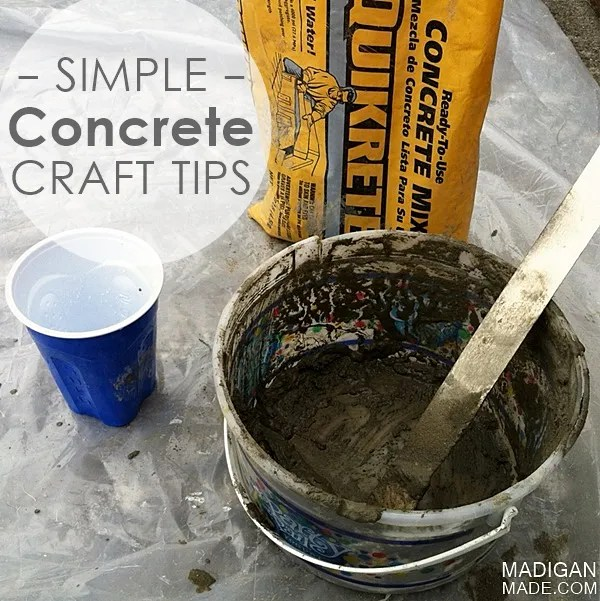 my simple tips for concrete crafts rosyscription
