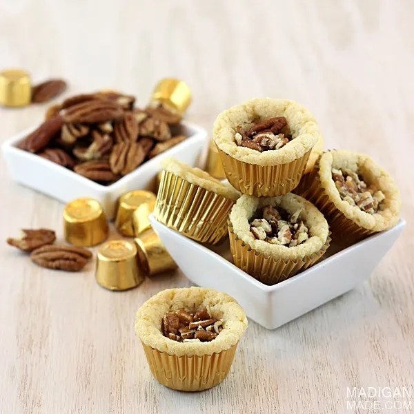 Easy turtle cookie cup recipe