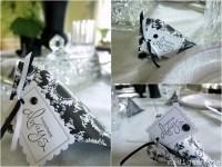 Black & White Floral Centerpieces {Bridal Shower Idea ...