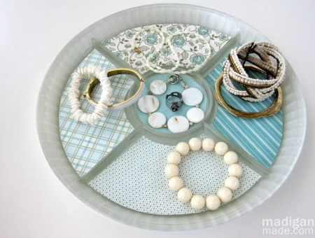 craft a tray for jewelry storage