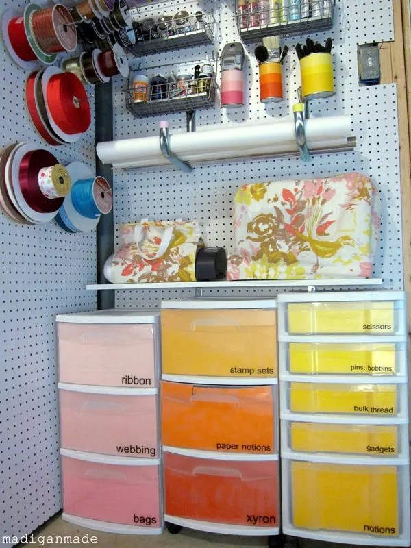 Madigan Madeu2026 Simple Storage Ideas And Solutions For Craft Supplies.