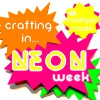 crafting in neon week