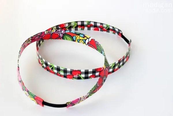 super easy duct tape headbands