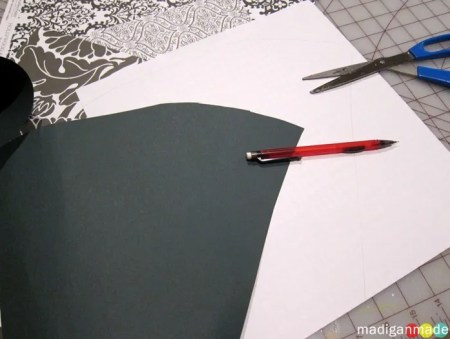 paper cone template