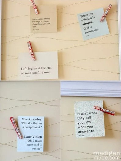 inspiring quotes for a memo board