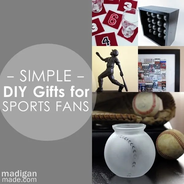 Simple Diy Gifts For Your Sports Fan Rosyscription
