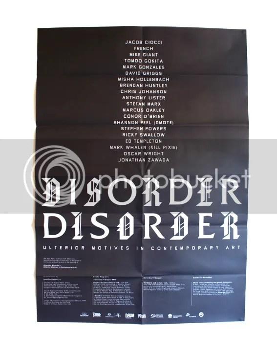 Disorder Disorder