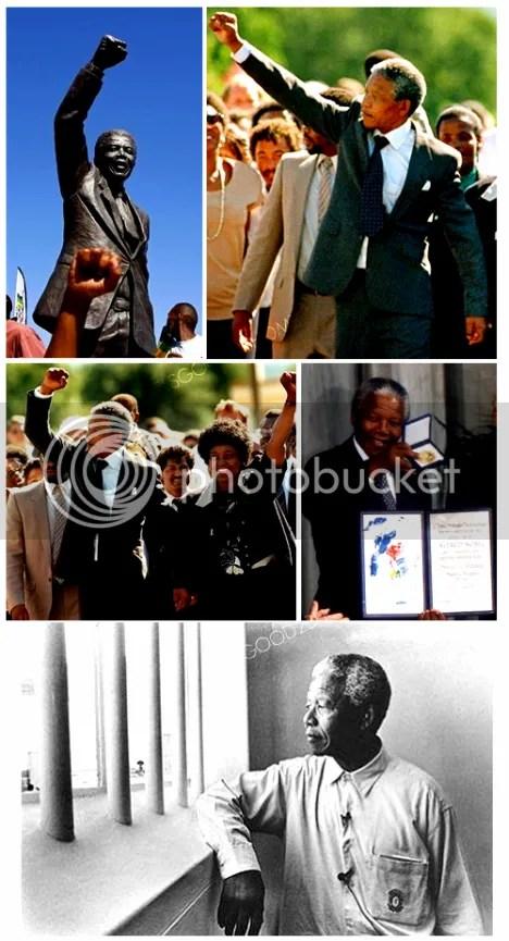 Nelson Mandela Winnie Mandela 20th Prison Release Anniversary