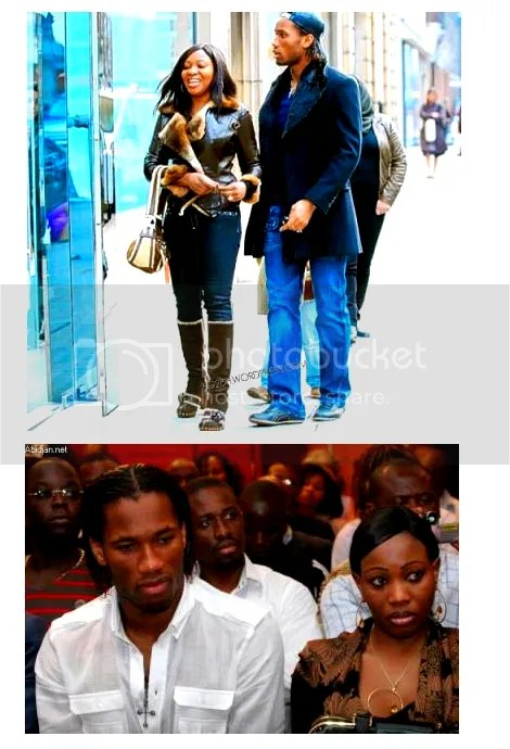 drogba and his wife alla