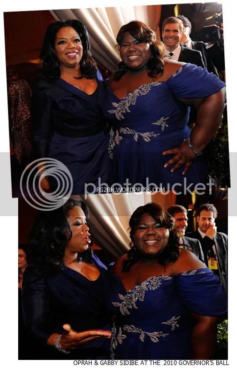 Oprah and Gabby Sidibe