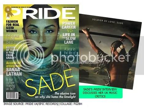 Sade Bites Back At Her UK Music Critics