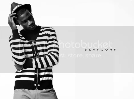 David Agbodji for Sean John's Men Spring/Summer 2010 AD Campaign?