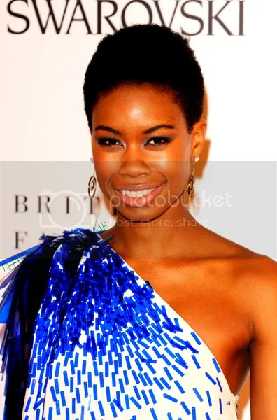 Toula at 2009 British Fashion Awards