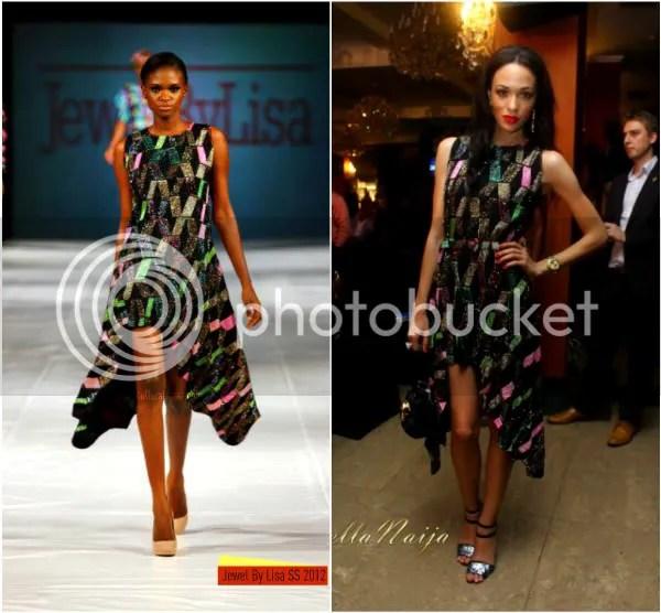 Where To Buy Fur Rug In Lagos: Eku Edewor's Effortless Buy Nigerian Fashion Parade