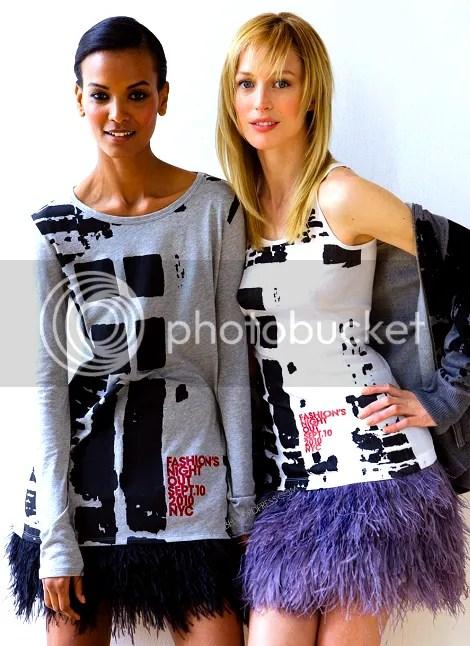 Liya Kebede for Fashion's Night Collection
