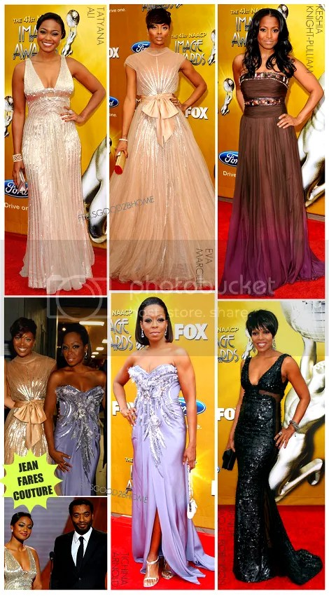Jean Fares Couture Takes Over 2010 NAACP Image Awards