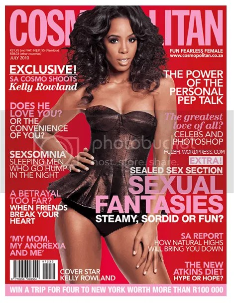 cosmo south africa july 2010 kelly rowland