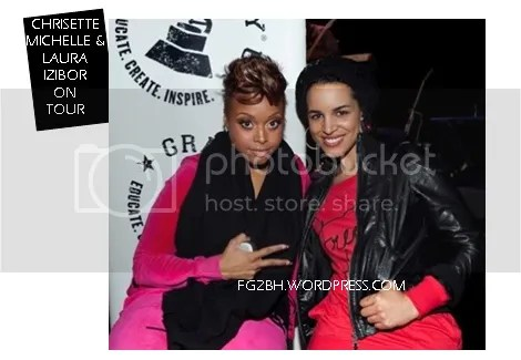 Laura Izibor and Chrisette Michele on Tour!