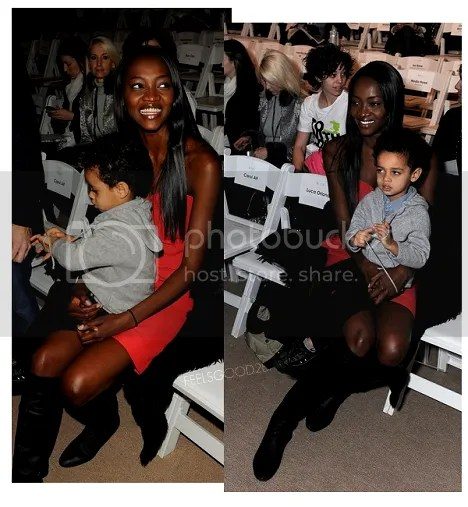 Oluchi and her son Ugo