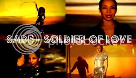 Soldier of Love Music Video Stills
