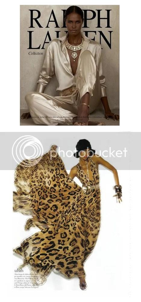 Uban Hassan for Ralph Lauren and Italian Vogue