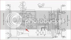 TR233A TR3a Dash Wiring