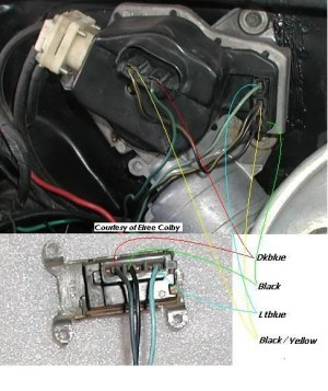 need help with windshield wiper wiring  Electrical