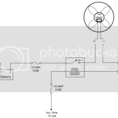 How To Wire A Plug Outlet Diagram Wiring Ceiling Lights Install Mishimoto Electric Fan Nasioc