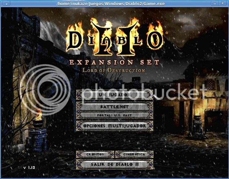 Wine,Diablo II,Diablo 2,Diablo,Game,Juego,Blizzard