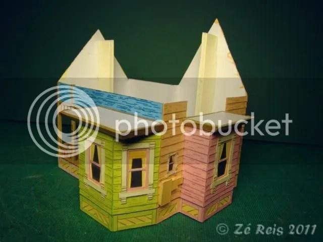 Z Reis Carls flying house  A casa voadora do filme Up