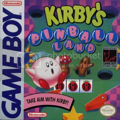 Kirby works well as a ball Top 10 Wish List of Original GB Games for 3DS Virtual Console eShop Top 10 Wish List of Original GB Games for 3DS Virtual Console eShop KirbyPinball