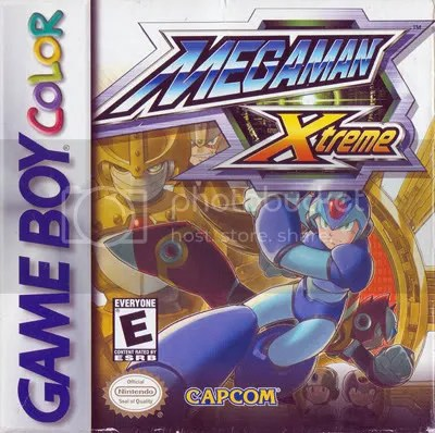 Megaman X now on GBC
