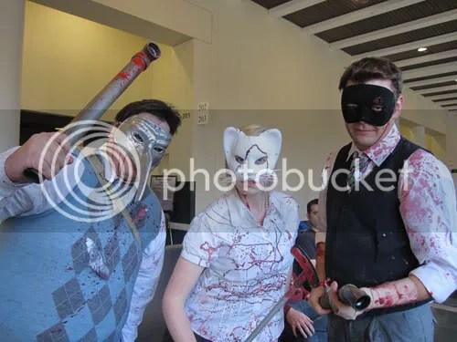 Mike, Jennifer, Peter