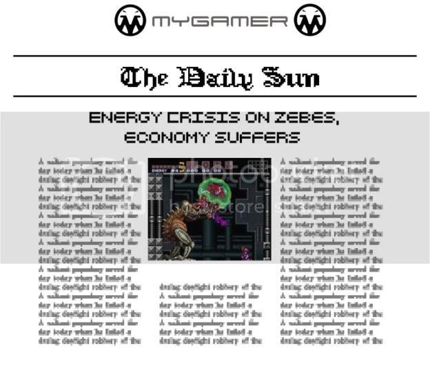 MyGamer Daily Sun - Super Metroid
