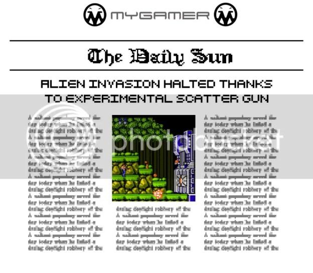 MyGamer Daily Sun - Contra MyGamer Daily Sun - Contra MyGamer Daily Sun – Contra Contra1Newspaper