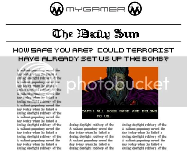 MyGamer Daily Sun - Zero Wing MyGamer Daily Sun - Zero Wing MyGamer Daily Sun – Zero Wing ZeroWingNewspaper