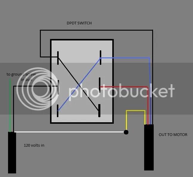 Dpdt Reversing Switch Wiring