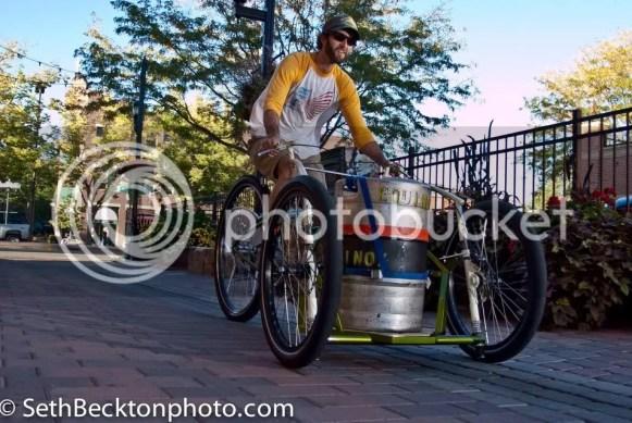 bootlegger keg bike