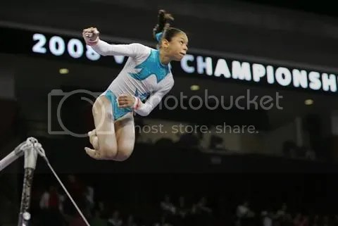 Sabrina Vega will appear at the International Gymnix meet next month.