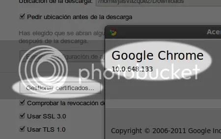cómo importar certificados digitales en google chrome