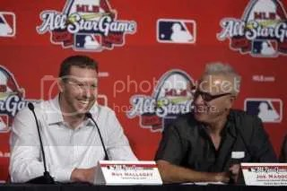 Roy Halladay and Joe Maddon