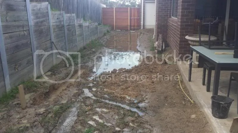 View topic  Clay soil  backyard drainage problems Photos included  Home Renovation