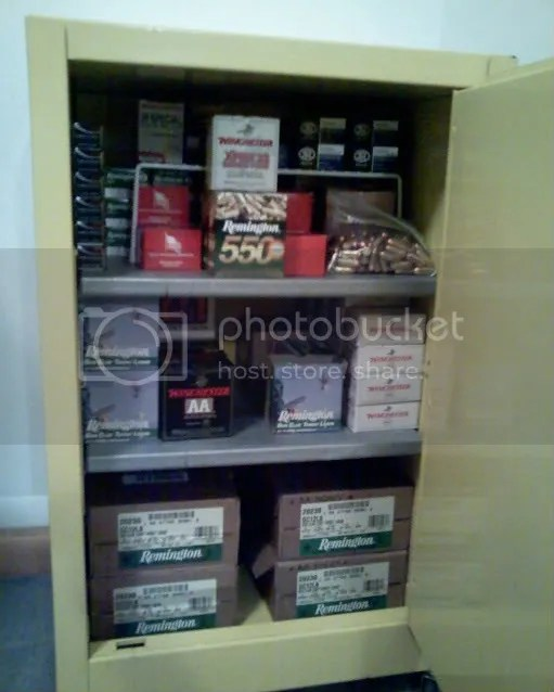 So I need to store ammo in a separate cabinet