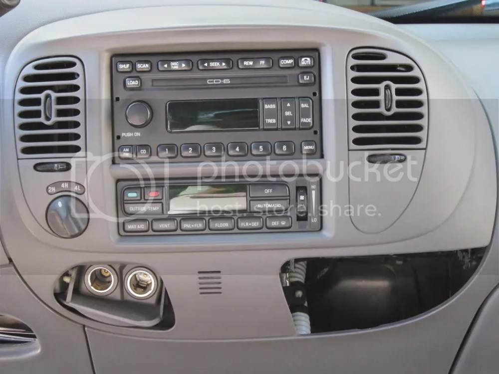 medium resolution of re 2003 f 150 a c heater auto climate control defrost on