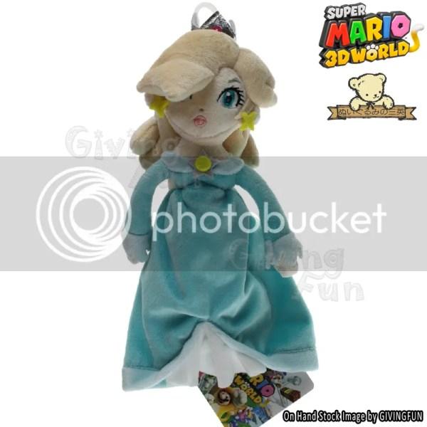 "Genuine 2014 Super Mario Bros 3d World 9.5"" Rosalina"