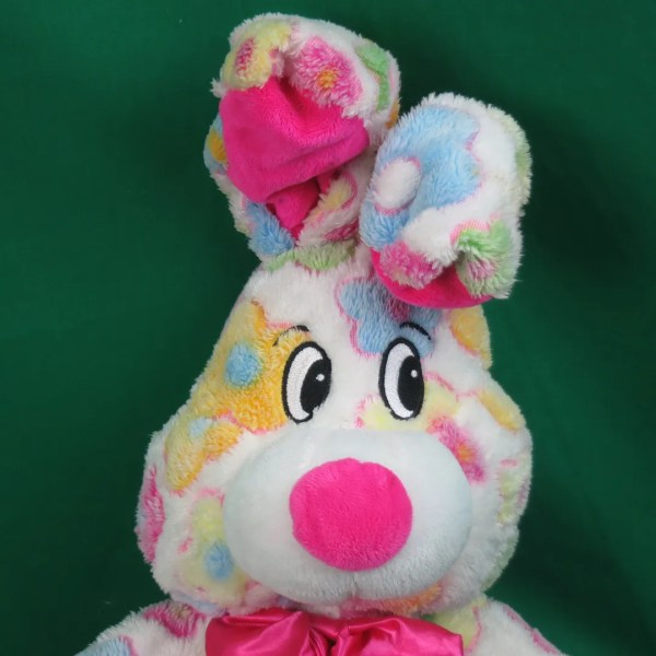 Pink Stuffed Easter Bunnies