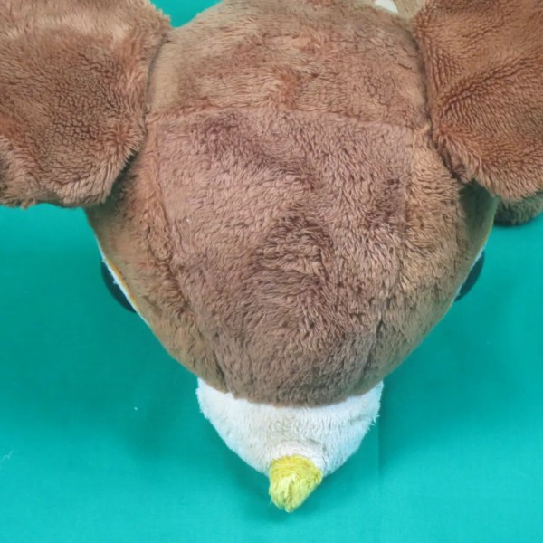 Vintage Brown Spotted Deer Big Eyes Soft Plush Stuffed