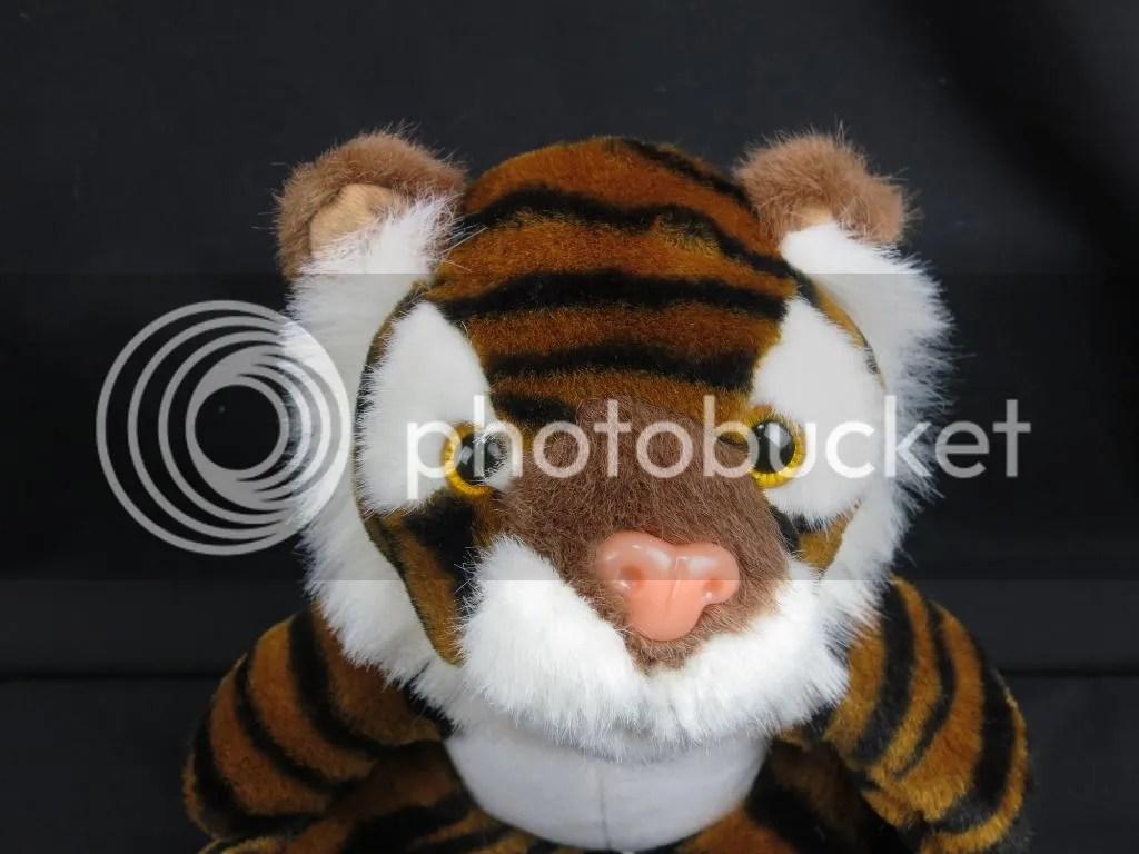 Fabulous Jungle Tiger Black Stripes Soft Plush Stuffed
